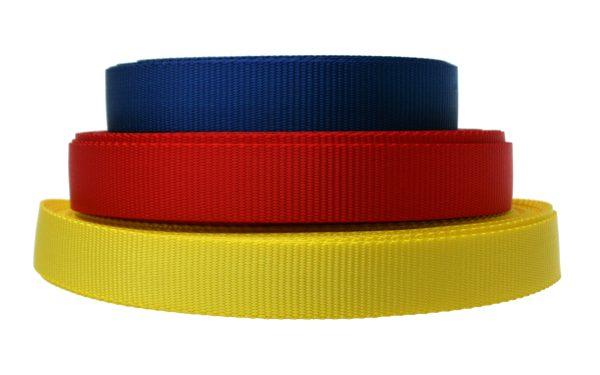 25mm Coloured Webbing