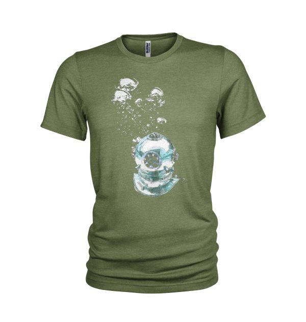 Antique Diving Helmet T-Shirt