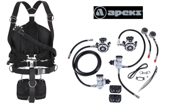 Apeks MTX-R & WSX-25 Sidemount Package