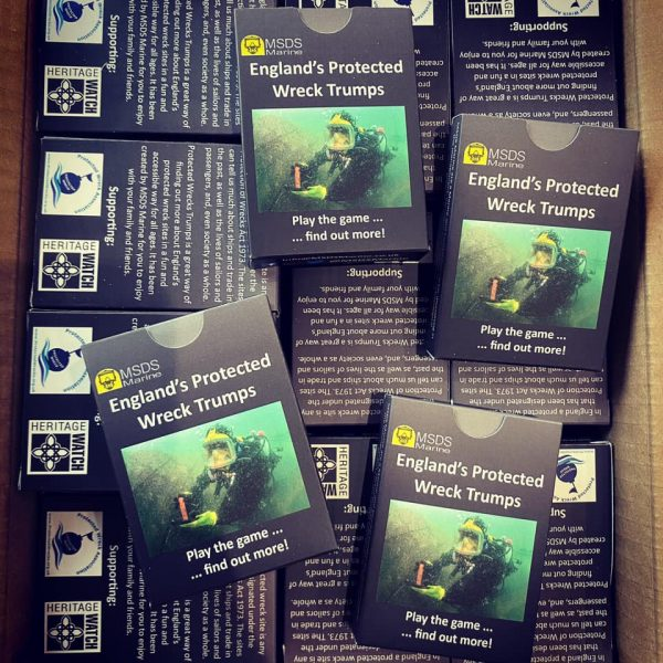 Protected Wreck Trumps Card Game