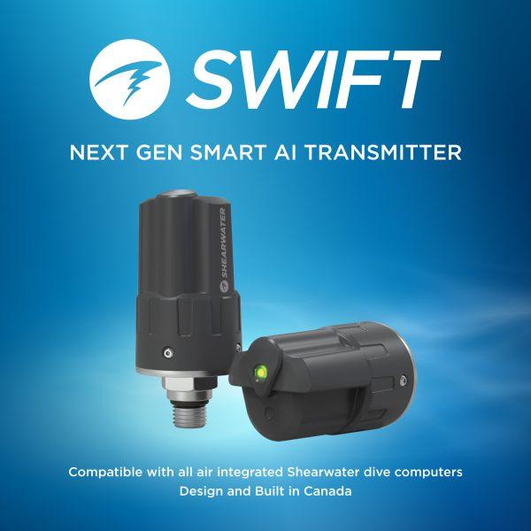 Shearwater Swift Transmitter - Pre Order